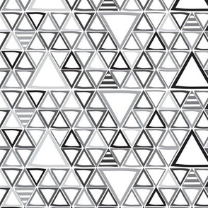 Triangles Greyscale