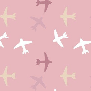 Planes on Pink