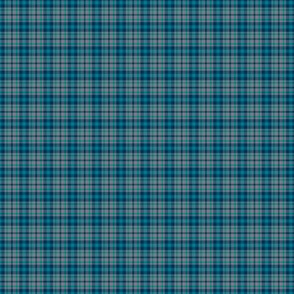 Cool Summer Small Scale Green Blue Tan Plaid Seasonal Color Palette