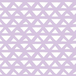 New boho indian summer minimal abstract geometric triangles aztec mudcloth design lilac lavender