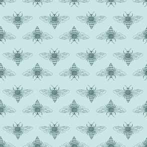 Honey Bee - Pine and Mint