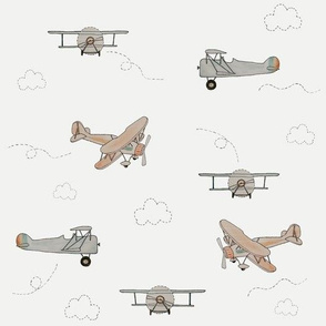 Watercolour Planes