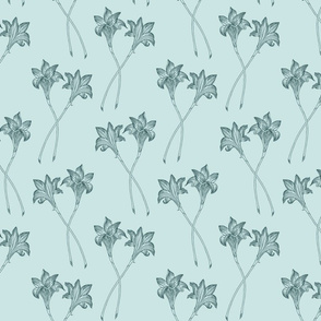 Indian Lily Daffodil - Pine and Mint