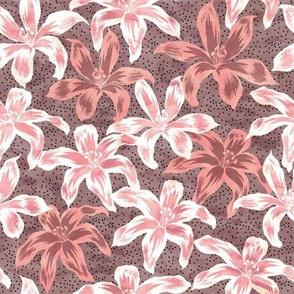Sunrise Floral Blush