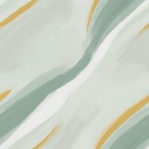 striated abstract landscape - medium scale