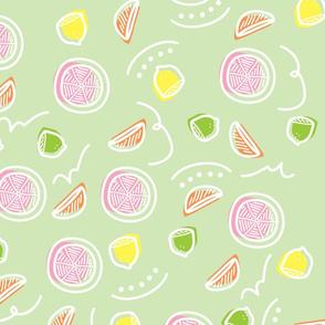 Fruit Doodles