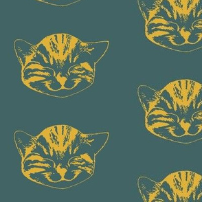 kitty medium pine goldenrod