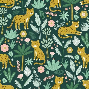 jungle leopards // gold