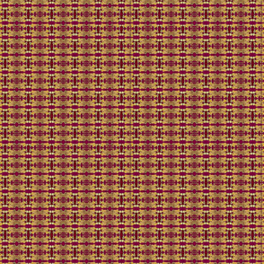 tapestryprint, claret and burgundy