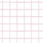 Wide Painted Pink Grid