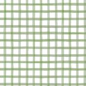 Painted olive grid