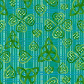 Celtic Knots Plaid