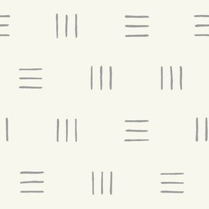 Line Group Pattern on Beige Background