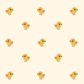 Easter Chicks (Off White)