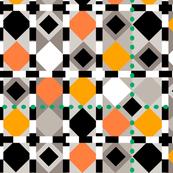 diamond dots-green lg