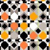 diamond dots-lime lg