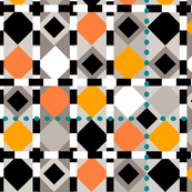 diamond dots-turquoise lg