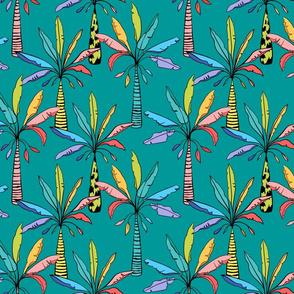 Tropifari Palms Medium (Mint)