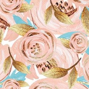 Blush rose Gold collage