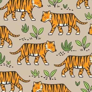 Jungle Tiger on Almond