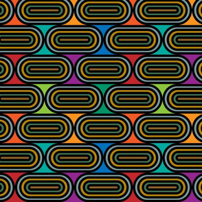 roller rink disco night abstract