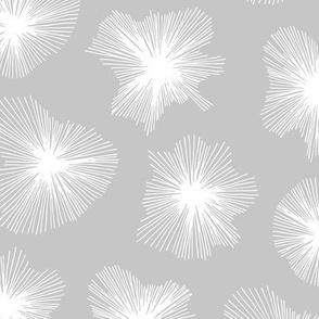 Crystal jelly magic universe minimal mod design spring summer soft gray white neutral nursery