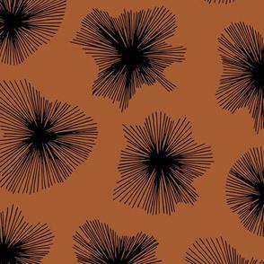 Crystal jelly magic universe minimal mod design autumn winter rust copper neutral nursery