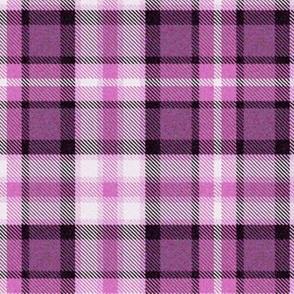 Violet Purple Four Square Plaid