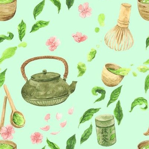 Matcha Tea Party
