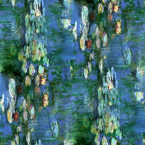 Claude Monet ~Water Lilies ~1916 ~ rotated