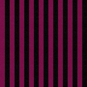 Pink & Black Stripes w/ Texture Effect