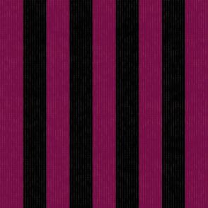 Pink & Black Stripes w/ Texture Effect (Large Size Print)