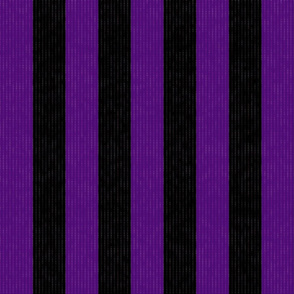 Purple & Black Stripes w/ Texture Effect (Large Size Print)