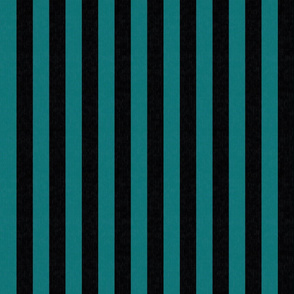 Teal & Black Stripes w/ Texture Effect