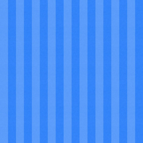 Two Tone Blue Stripes w/ Linen Effect