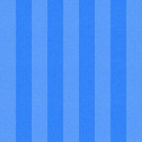 Two Tone Blue Stripes w/ Linen Effect (Large Size Print)