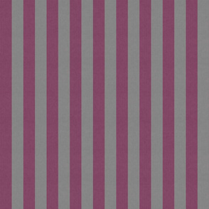 Retro Pink & Gray Stripes w/ Texture Effect