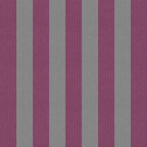 Retro Pink & Gray Stripes w/ Texture Effect (Large Size Print)