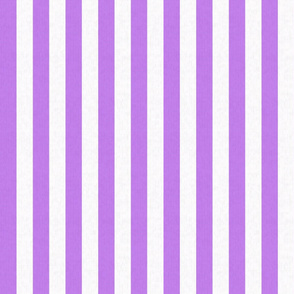 Purple & White Stripes w/ Linen Effect