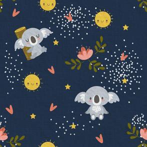 Good Night Koala Navy