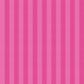 Two Tone Pink Stripes w/ Linen Effect