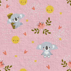 Good Night Koala Pink