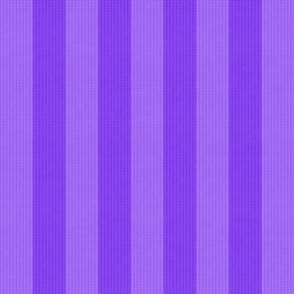 Two Tone Purple Stripes w/ Linen Effect