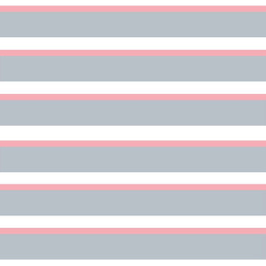 Pink Gray Stripes