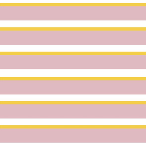 Pink Yellow Stripes