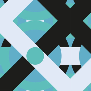 Geometric abstract design for your creativity