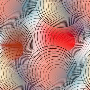 Circles orangered
