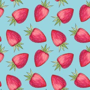 Summer Strawberry - Blue