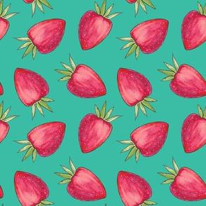 Summer Strawberry - Green