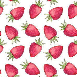 Summer Strawberry - White